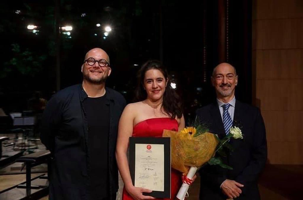 Read more about the article JASMIN DELFS ist Preisträgerin beim Cesti-Wettbewerb 2021